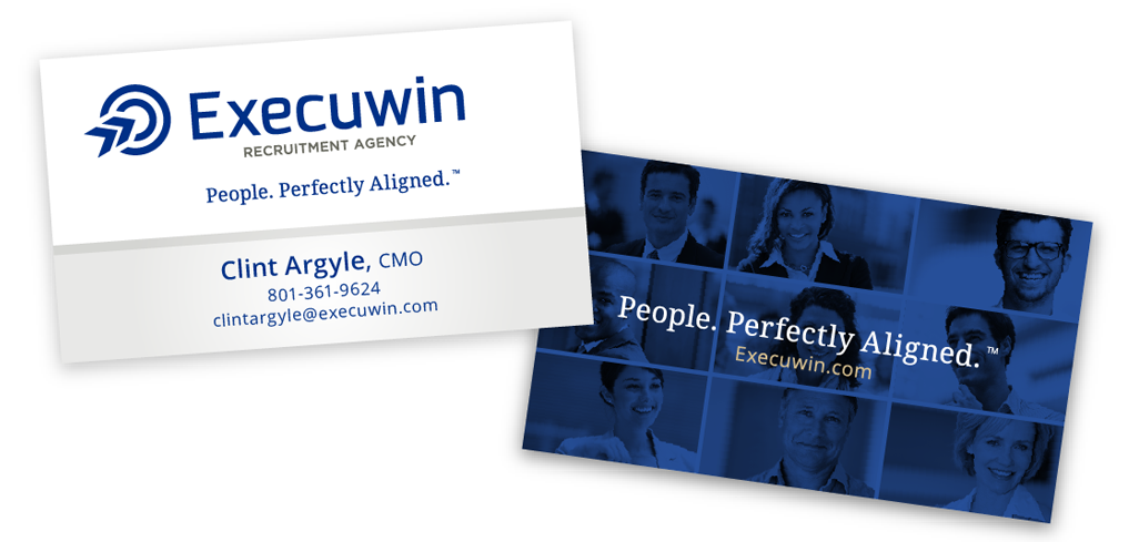 Execuwin marketing pieces business card below adobe illustrator cs5 format reheart Image collections